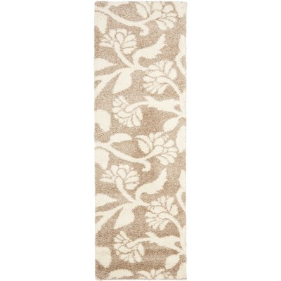 Safavieh Florida Shag Light Crème Rug