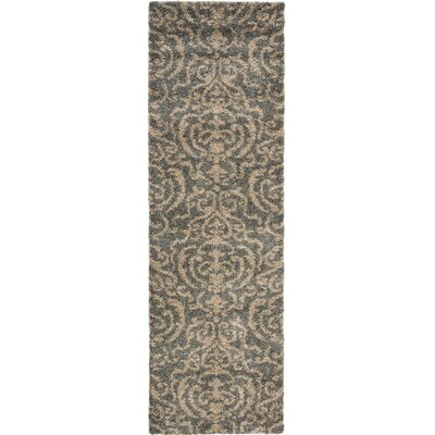 Florida Shag Light Gray/Beige Rug