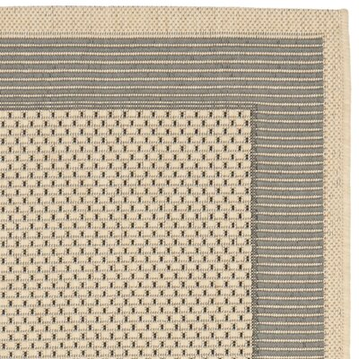Safavieh Courtyard Grey/Cream Rug