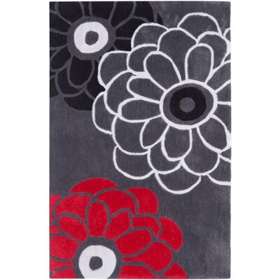 Modern Art Dark Gray/Multi Rug
