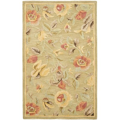 Safavieh Blossom Green / Multi Contemporary Rug