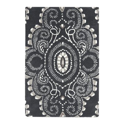 Safavieh Wyndham Dark Grey / Ivory Rug