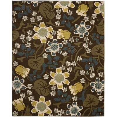 Safavieh Newbury Brown / Mustard Rug