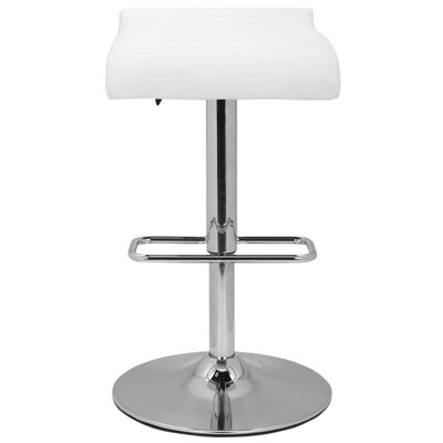 "Safavieh Retro Hugo 35.5"" Adjustable Bar Stool with Cushion"