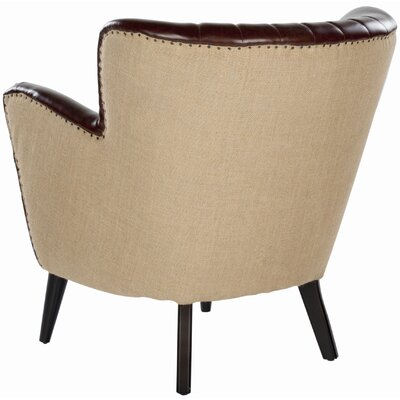 Safavieh James Leather Chair
