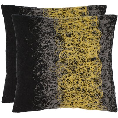 Safavieh Simon Polyester Decorative Pillow (Set of 2)