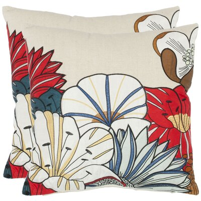 Safavieh Leland Cotton Decorative Pillow (Set of 2)