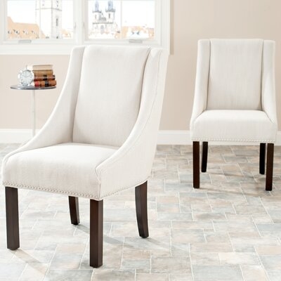 Safavieh Molly Sloping Arm Chair (Set of 2)