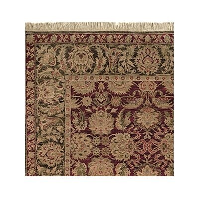 Safavieh Old World Agra Burgundy Rug