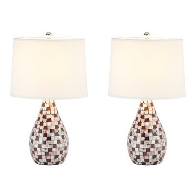 Safavieh Mother Of Pearl Table Lamp (Set of 2)