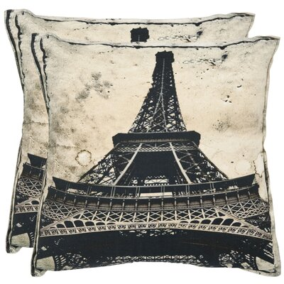 Paris Cotton Decorative Pillow (Set of 2)