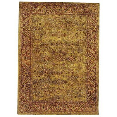 Golden Jaipur Patina Green/Rust Rug