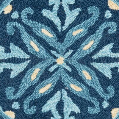 Safavieh Four Seasons Blue / Multi Outdoor Rug