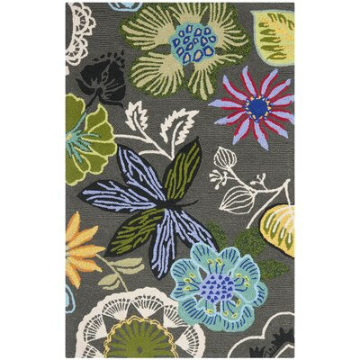 Safavieh Four Seasons Grey / Multi Outdoor Rug