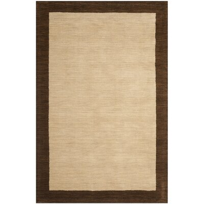 Safavieh Himalayan Beige/Dark Brown Rug