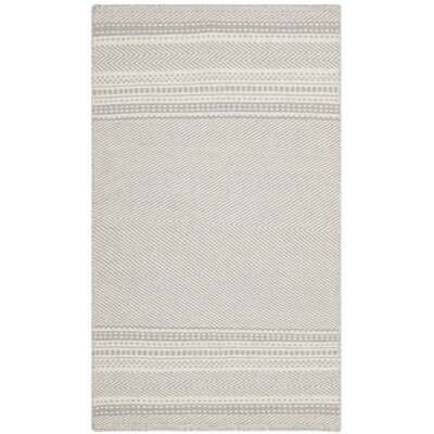 Kilim Grey / Ivory Traditional Rug