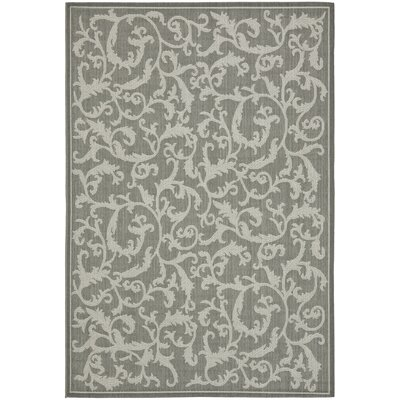 Courtyard Anthracite/Light Grey Rug