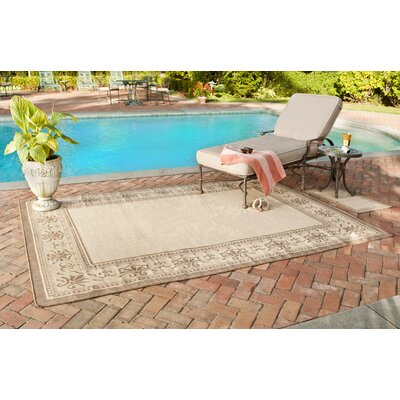Safavieh Courtyard Natural/Brown Rug Set