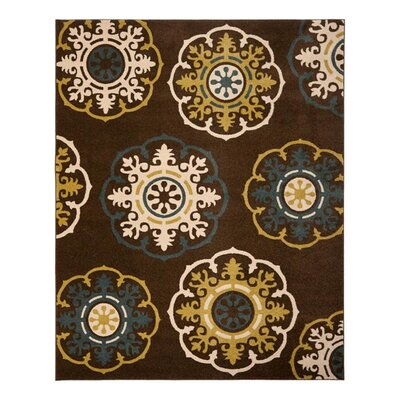 <strong>Safavieh</strong> Newbury Brown / Green Rug