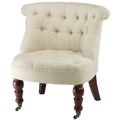 Safavieh Baby Tufted Fabric Slipper Chair