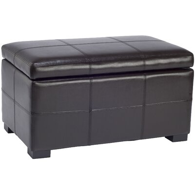Safavieh Madison Leather Ottoman