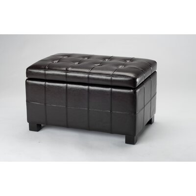Safavieh Small Maiden Leather Ottoman
