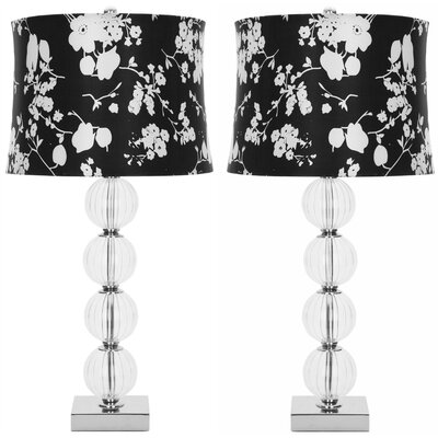 """Safavieh Sphere 30"""" H Table Lamp with Drum Shade"""