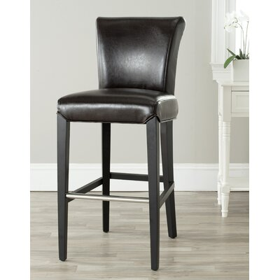 Safavieh Ariel Bar Stool in Brown