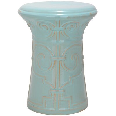 Imperial Scroll Garden Stool