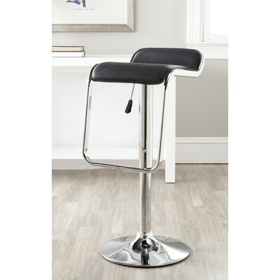 Safavieh Taronda Adjustable Swivel Bar Stool with Cushion
