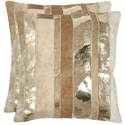 Safavieh Peyton Feather / Down Decorative Pillow (Set of 2)