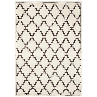 Safavieh Mosaic Beige / Charcoal Geometric Rug