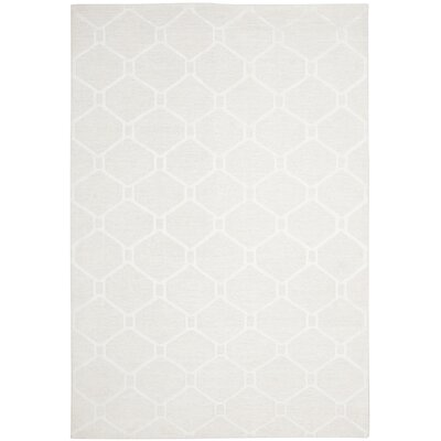 Martha Stewart Piazza Gls Of Milk White Rug