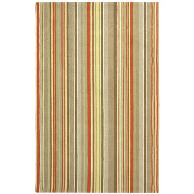 Safavieh Newport Red Striped Rug