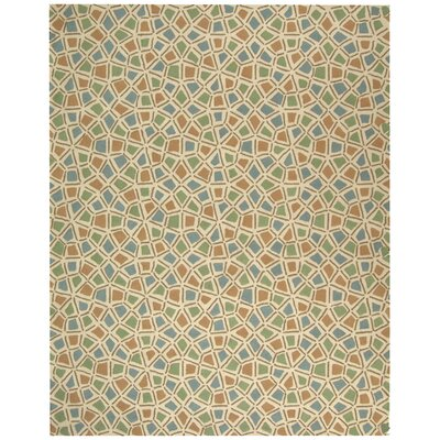 Safavieh Newport Blue / Green Geometric Rug