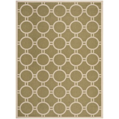 Safavieh Courtyard Green / Beige Rug