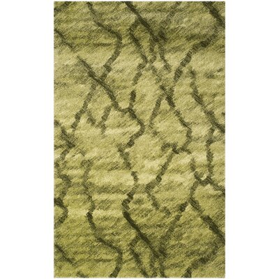Retro Green / Dark Green Rug