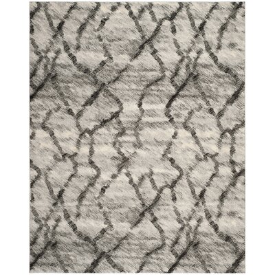 Safavieh Retro Light Grey / Black Rug