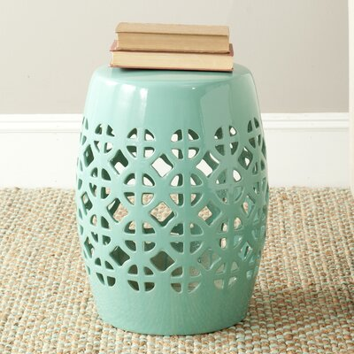 Circle Lattice Garden Stool