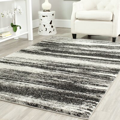 Safavieh Retro Dark Grey / Light Grey Rug