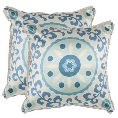 Safavieh Frida Polyester Decorative Pillow (Set of 2)