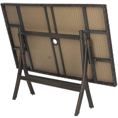 Safavieh Dilettie Folding Picnic Table Amp Reviews Wayfair