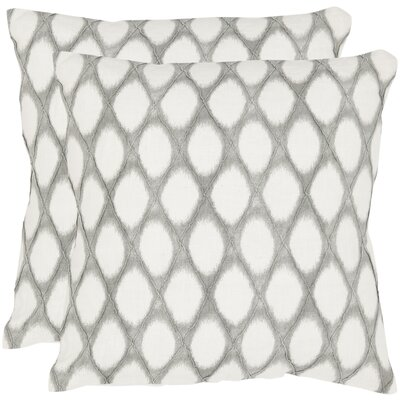 Safavieh Kendell Linen Decorative Pillow (Set of 2)