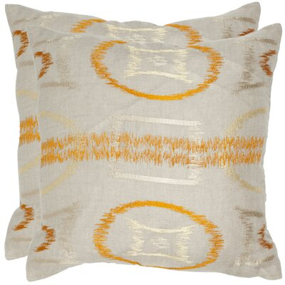 Safavieh Reese Linen Decorative Pillow (Set of 2)