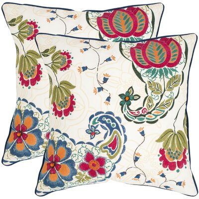 Melissa Cotton Decorative Pillow (Set of 2)