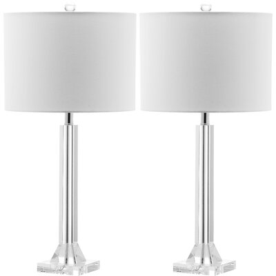 Safavieh Tyrone Crystal Column Table Lamp