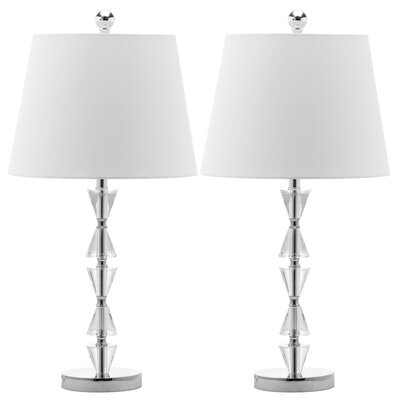 Safavieh Deco Prisms Crystal Table Lamp (Set of 2)