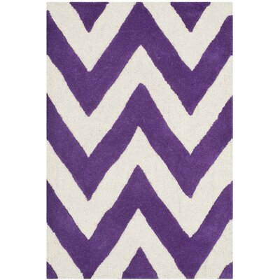 Safavieh Cambridge Purple / Ivory Rug