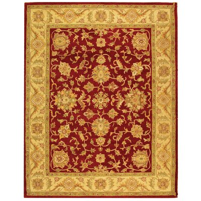 Safavieh Antiquities Red/Gold Rug