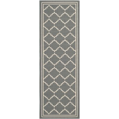 Safavieh Courtyard Grey / Beige Rug